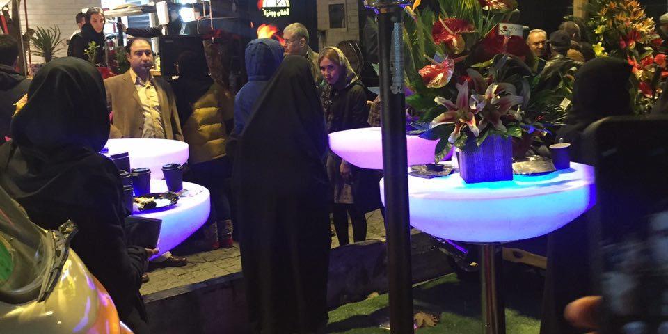کاربرد میز ال ای دی (LED) در نورپردازی مجالس و جشن ها