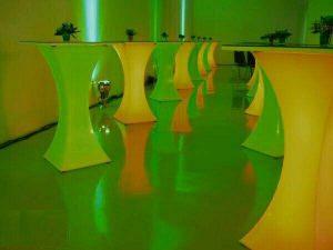 اجاره میز ال ای دی(LED) در سرماآفرین