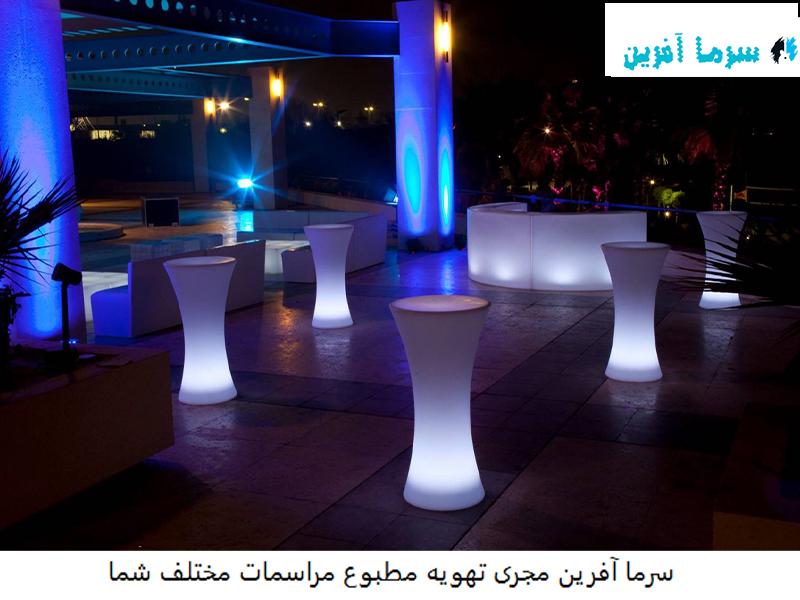 اجاره میز ال ای دی در تهران
